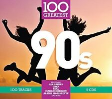 100 Greatest '90s by Various Artists (CD, Nov-2017, 5 Discs, Rhino (Label))