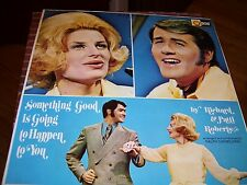RICHARD & PATTI ROBERTS-SOMETHING GOOD IS GOING TO HAPPEN TO YOU-LP-NM-LIGHT