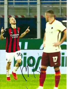12x8 Inch 30x20cm HAND SIGNED PHOTO A.C. MILAN ALEXIS SAELEMAEKERS (1)