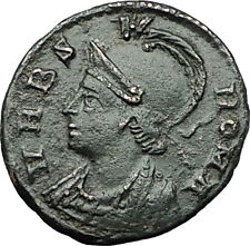 CONSTANTINE I the GREAT 337AD VRBS Roma Soldiers RARE Ancient Roman Coin i59355