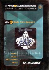 M-Audio Pro Sessions Vol. 23: beats from Beyond 1 artículos nuevos en lámina OVP