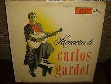 Carlos Gardel - Memorias De Carlos Gardel - Rare LP in Good Conditions - L6