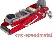 1,5t aluminio Floor Jack rangierwagenheber min 88mm Silver/red gato para 00034