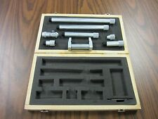 50-600mm Metric Inside Micrometer, 0.01mm graduation part# 404-M50600--NEW