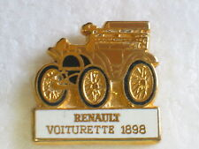 1898 Renault Motor Car Lapel Pin , Renault Automobile Pin