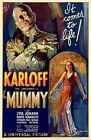 Внешний вид - The Mummy movie poster print  : Boris Karloff : 11 x 17 inches