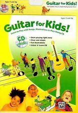 Guitar for Kids!: Learn to Play with Songs, Illustrations & Play-Along CD, Book