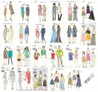 Vogue Sewing Patterns VERY EASY Misses' Coordinates Outfits Pants Tops Jackets