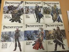 Pathfinder Rise of the Runelords COMPLETE SET of 6 Books Paizo Adventure Path