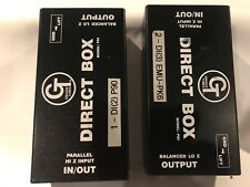 2 Groove Tubes Direct Box Hi Z Input Model Pdi