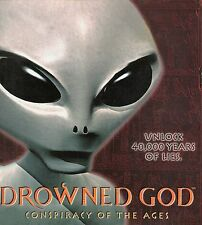 DROWNED GOD Conspiracy Of The Ages PC Game CD-ROM Adventure NEW in BIG Box