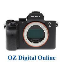 NEW Sony Alpha A7 MK 2 Body Mark II 24.3MP Full Frame DSLR Camera 1 YrWty