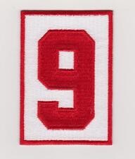 Gordie Howe Memorial Patch Detroit Red Wings '9' Road Jersey