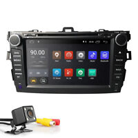 HIZPO Android8.1 Car Dash DVD Player GPS Navi Radio Stereo BT for Toyota Corolla