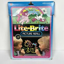 Vintage 1986 My Little Pony Lite Brite Refill Pack