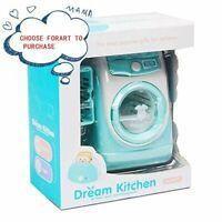 Mini Pretend Play Toy Simulation Washing Machine Filling Toys Water Kitchen Gift