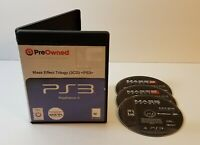 Mass Effect Trilogy (Sony PlayStation 3, 2012) ps3 game compilation