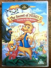 the Secret of NIMH 2 DVD 1998 Timmy to the Rescue Animated Family Movie