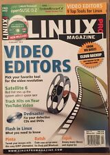 Linux Pro Magazine Video Editors Satellite 6 Cloud Backup Feb 2015 FREE SHIPPING