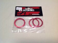 Eastern bikes headset spacers aluminum For 1 1/8 (assortment)-red