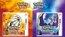 3DS Pokemon Sun & Moon COMBO Lot Bundle Nintendo 2016 Plays on 2DS New & Sealed