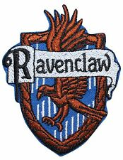 "Harry Potter Costume ""Ravenclaw"" Hogwarts' House Crest Iron On Applique Patch"