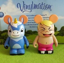 "Disney Vinylmation 3"" Park Set 2 Fantasia The Pastoral Symphony Unicorn Faun"