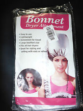 Retro Bonnet Hood Attachment Hair Dryer Drying Rollers Curlers Heat Treatments