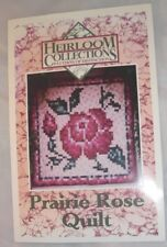 Prairie Rose Quilt - Heirloom Collections -  Quilt Pattern Only