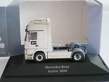 Herpa Mercedes-Benz Actros MP3 1860 PC Werbemodell Präsentation rauchsilber