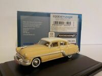 Model Car, Pontiac Chieftan - 4 door winter white, 1/87 New Oxford 87PC54002