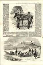 1855 NEW CASTLE Ospedale BALAKLAVA in ritardo col quand
