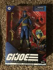 GI Joe Classified Series Cobra Commander Regal Variant Hasbro Pulse In Hand