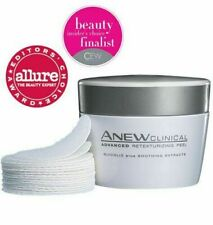 Avon Anew Clinical Advanced Resurfacing Peel Anti Ageing 30 Pads (Foil Sealed)