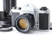 """""""Exc+++++"""" Pentax SV 35mm SLR w/ Super Takumar 55mm f1.8 & 200mm f/4 Lens #200"""