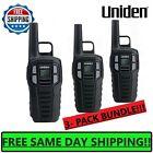 UNIDEN Long Range 3-pack Rechargeable Two Way Radio Walkie Talkies 16 MILE 2-Way