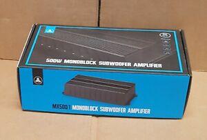 JL Audio MX500/1 Marine Powersports Weather Resistant 500 watt Mono Amplifier