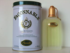 Façonnable Homme Classic EDT Nat Spray 100ml - 3.3 Oz New In Tin Retail Boxed