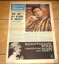 DAVID BOWIE ~ RECORD MIRROR 11 SEPTEMBER 1966 ~ VERY EARLY RECORD REVIEW