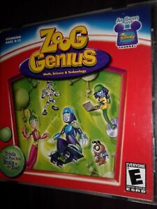 Disney's Zoog Genius learning cd