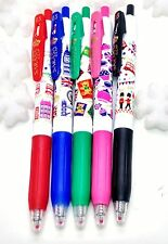 "ZEBRA sarasa ""LONDON STREET"" JJ15 colored easy clip gel pens 5 PIECE"