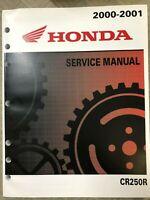 2000 2001 Honda CR250R Service Repair Workshop Shop Factory Manual NEW