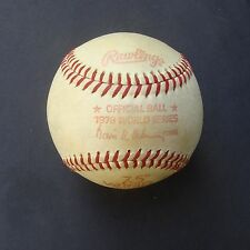 1978 Official Rawlings Haiti World Series Baseball New York Yankees  L A Dodgers