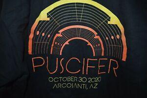 PUSCIFER Live Maynard James Keenan Band Sweat Shirt Medium Tool A Perfect Circle