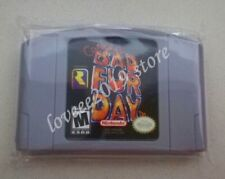 N64 Game Conker's Bad Fur Day Cartridge Console Card USA/CAN version