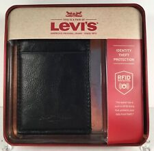 Levis Money Clip Wallet RFID Blocking Magnetic Wallet Black