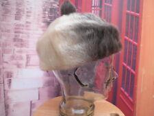 Sombrero mujer piel pelo natural foquina ushanka