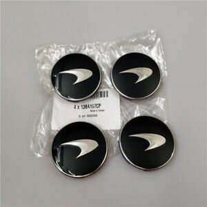 Genuine Mclaren 570s 600LT 720s Black Wheel Hub Cap Kit 13BA167CP Brand New