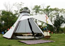 AU Ship Light Weight Waterproof Pyramid Indian Tipi Tent Camping Teepee Tent