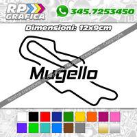 ADESIVO sticker CIRCUITO MUGELLO moto auto